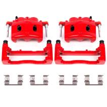 Power Stop S4918A Performance Powder Coated Brake Caliper Set For Chevy, GMC, Cadillac