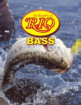 RIO Products Leaders Bass Leaders 9' 12Lb 5.5kg, Clear