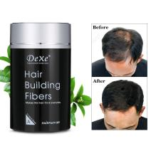 Hair Building Fibers, LuckyFine Disposable Powder Conceal Instantly for Thinning Hair, Cover Up Hair Loss Natural Thickens for Men and Women Black Color 22g/0.78oz