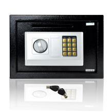SereneLife Drop Box Safe Box | Safes & Lock Boxes | Front Loading Safe Cash Vault Drop Lock | Safe Security Box | Digital Safe Box | Money Safe Box | Steel Alloy Drop Safe Includes Keys (SLSFE342)