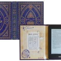 Kindle Paperwhite Case with Harry Potter Themed Foldback Book Cover (New Ravenclaw Blue)