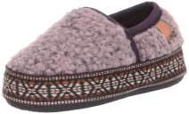 Acorn Kids' L'il Woven Trim Moc Slippers