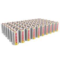 Tenergy SubC 2200mAh NiCd Flat Top Rechargeable Battery (No Tabs) - 60 Pack