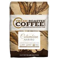 Fresh Roasted Coffee LLC,Colombian Nariño Coffee, Whole Bean (5 lb.)