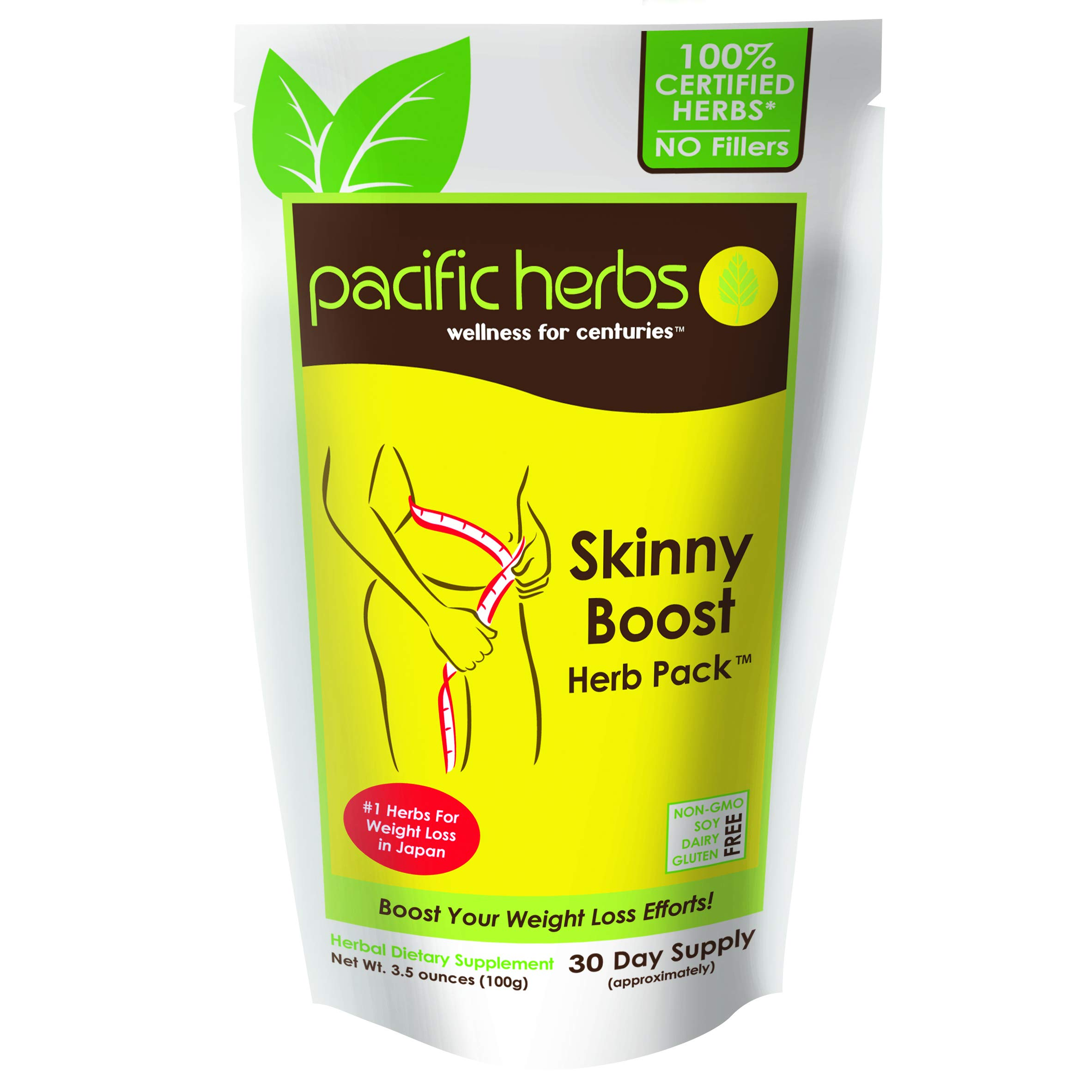 Pacific Herbs Natural Weight Loss Herbal Cleanse