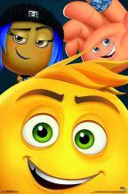 "Trends International The Emoji Movie-Close-Up Wall Poster, 22.375"" x 34"", Unframed Version"