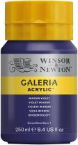 Winsor & Newton Galeria Acrylic Paint, 250ml Bottle, Winsor Violet