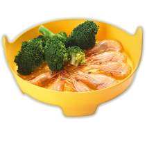 Silicone Food Steamer-Yellow