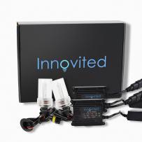 Innovited H16 5000K HID Xenon Bulb x 1 pair bundle with 35W AC Digital Slim Ballast (Prue White)