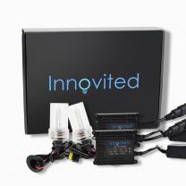 Innovited H1 5000K HID Xenon Bulb x 1 pair bundle with 35W AC Digital Slim Ballast (Prue White)