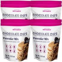 MORAMA - Chocolate Chip Pancake Mix (CHOCOLATE, 4PACK)