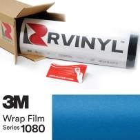 3M 1080 M227 Matte Blue Metallic 5ft x 30ft W/Application Card Vinyl Vehicle Car Wrap Film Sheet Roll