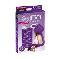 Bonnet Hood Hair Dryer Attachment Hair Flair Deluxe Softhood (Purple)