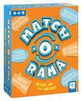 Match-O-Rama Family Board Game   Press-Your-Luck Matching Game Fun for All Ages   Fast Paced Party Game