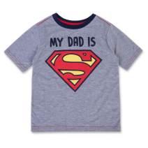 DC Comics Boys Superman Shirt - Superman Kids T-Shirt - Short Sleeve Crew Neck Superman Superhero Tee