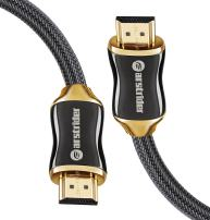 4K HDMI Cable/HDMI Cord 3ft - Ultra HD 4K Ready HDMI 2.0 (4K@60Hz 4:4:4) - High Speed 18Gbps - 28AWG Braided Cord-Ethernet /3D / HDR/ARC/CEC/HDCP 2.2 / CL3 by Farstrider