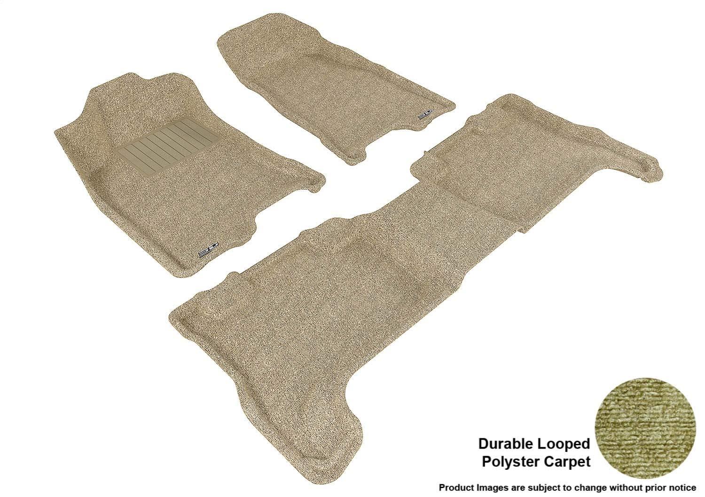 Coverking Custom Fit Front Floor Mats for Select TaurusX Models Black Nylon Carpet