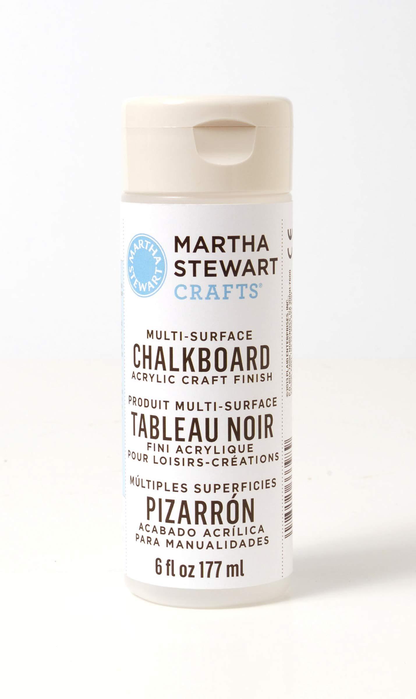 Martha Stewart Crafts Martha Stewart Decoupage Chalkboard Finish Paint, 6 oz, Clear