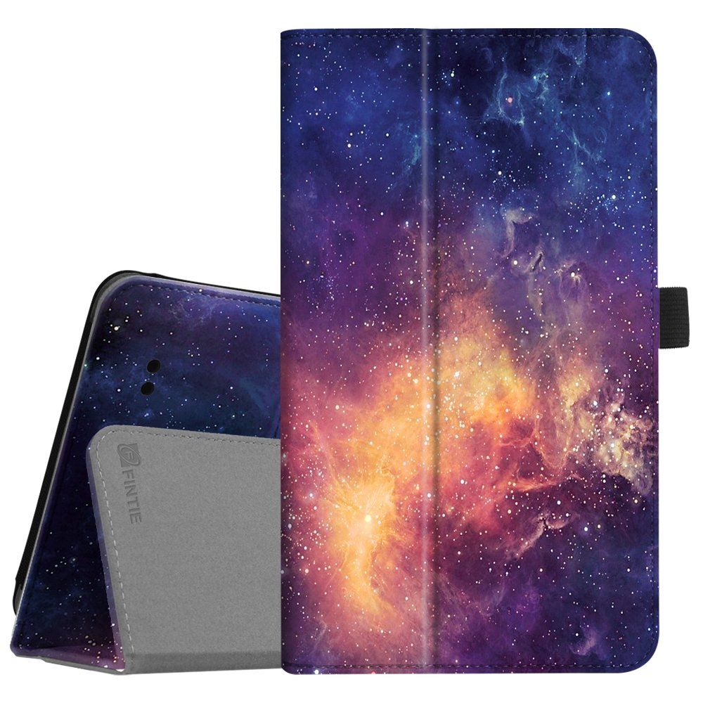 """Fintie Folio Case for Alcatel Joy TAB/Alcatel 3T 8"""" Tablet, Premium PU Leather Stand Cover Also Compatible with T-Mobile 8-inch Alcatel A30 2017 Tablet (Galaxy)"""