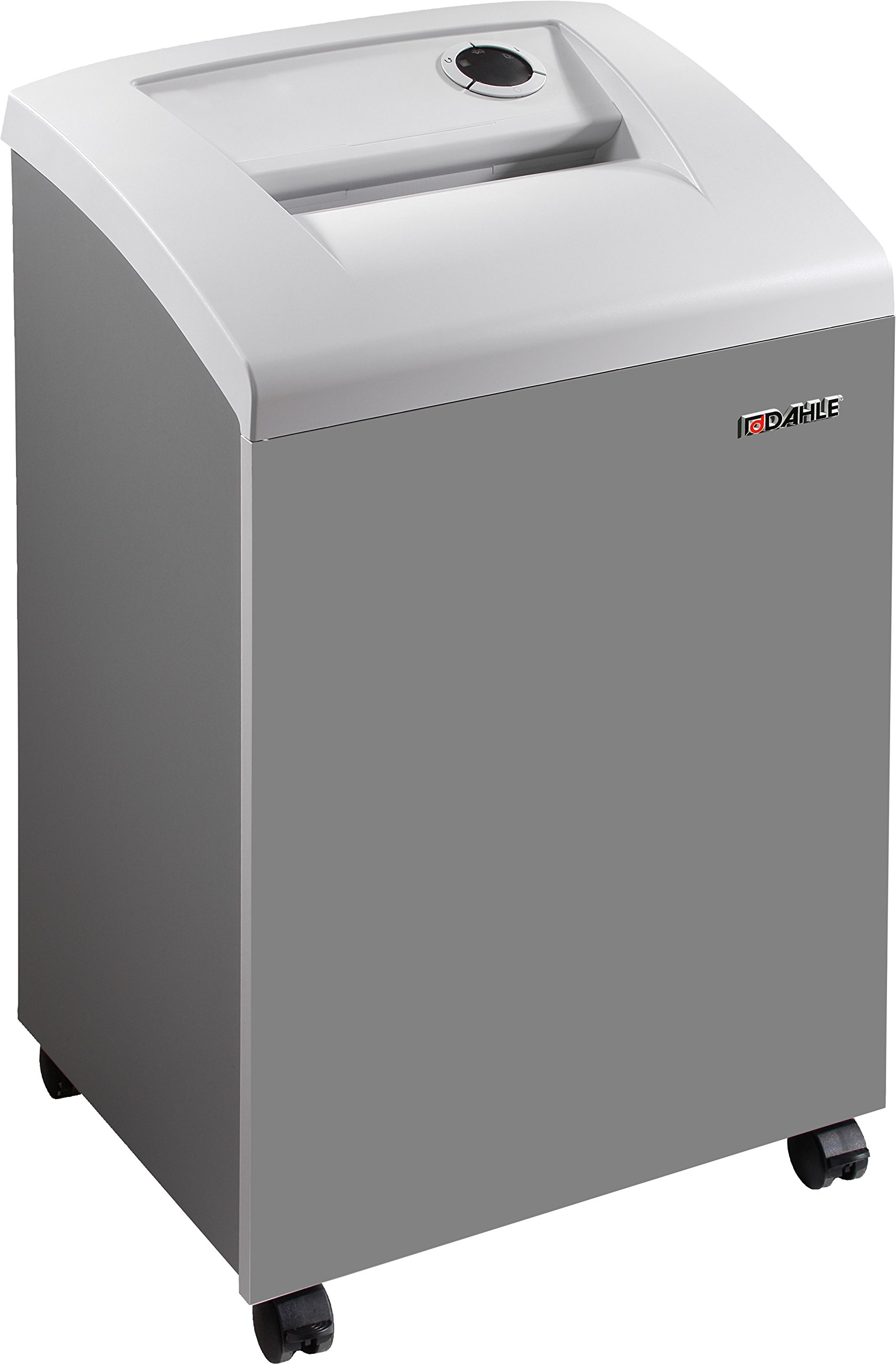 Dahle 40330 Paper Shredder w/Automatic Oiler, SmartPower, Jam Protection, Extreme Cross Cut, Security Level P-6, 6 Sheet Max, 1-3 Users