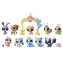Littlest Pet Shop Sparkle Spectacular Collection Pack Toy, Includes 10 Glitter Pets, Ages 4 and Up (Amazon Exclusive)