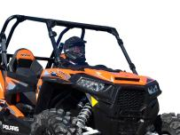SuperATV Heavy Duty Clear Full Windshield for Polaris RZR XP 1000/4 1000 (2014-2018) - Installs in 5 Minutes!