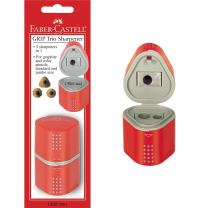 Faber-Castell Grip Trio Sharpener Arts and Crafts, Multi