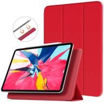 """TiMOVO Cover Compatible for iPad Pro 11 Inch 2018 Case, [Support Pencil Pair & Charging] Strong Magnetic Attachment, Trifold Stand Case with Auto Sleep/Wake Fit iPad Pro 11"""" 2018 - Red"""