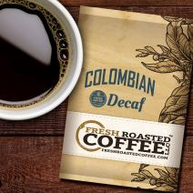 Colombian Swiss Water Decaf Coffee, 1.75 oz. Fractional Packages, Ground, Fresh Roasted Coffee LLC. (42 Portion Packs)