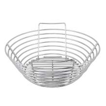 Kick Ash Basket Stainless Steel Charcoal Ash Basket for Big Green Egg Grill - Medium