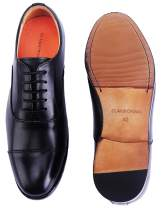 ELANROMAN Men's Oxfords Dress Leather Sole Handmade Luxury Shoes