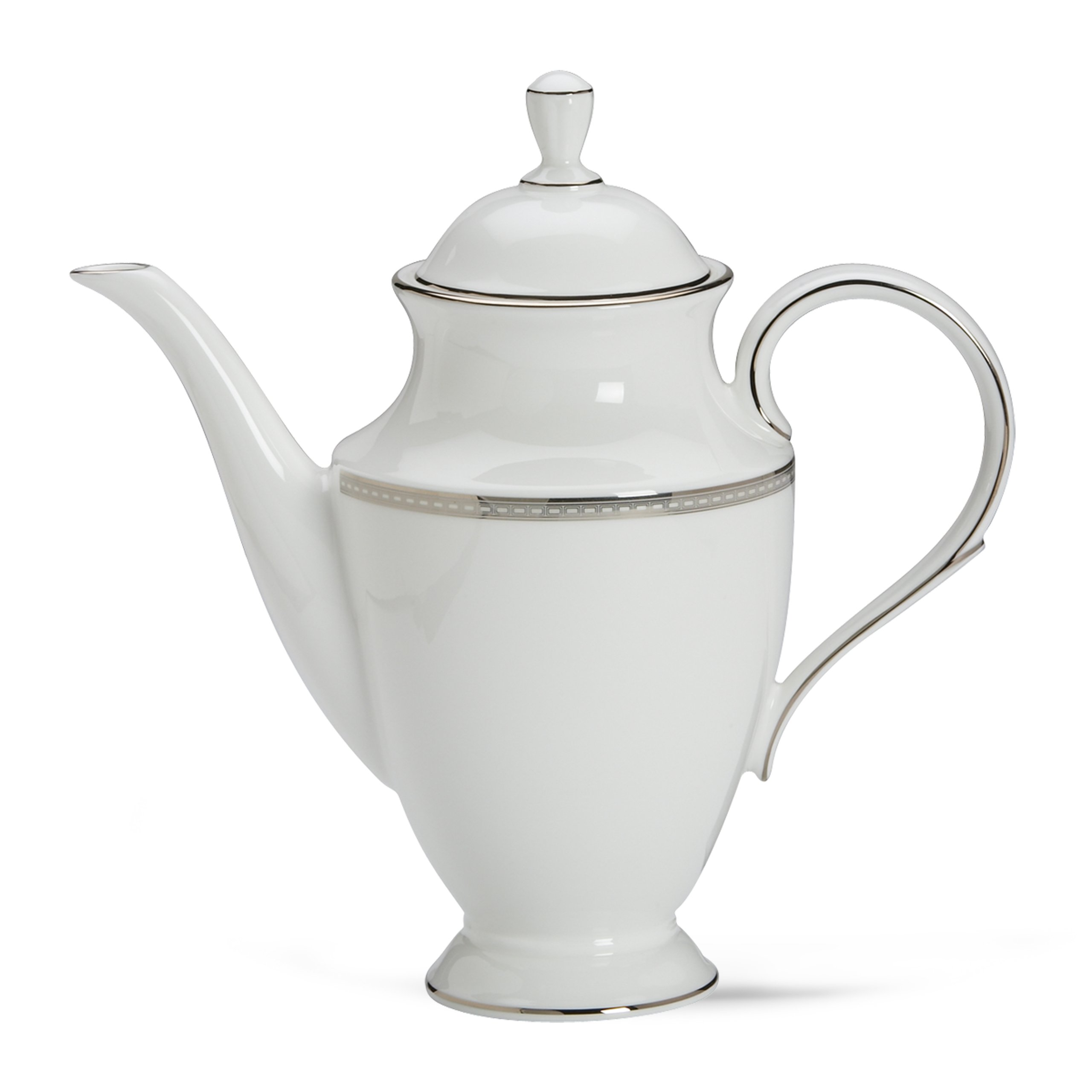 Lenox 6230205 Murray Hill Coffeepot, 2.95 LB, White