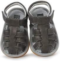 Baby Girls Boys Summer Sandals Toddler Infant Girls Rubber Sole Non-Slip Flat Shoes