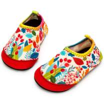 Apolter Baby Water Shoes Barefoot Swim Shoes Non-Slip Aqua Socks for Beach Pool