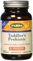Flora Toddlers Probiotic 2.64 Ounce - Easy Powder Probiotic 3 Billion CFU - For Infants, Babies, and Kids - Gluten Free - Better than Gummies (Udo's Choice)