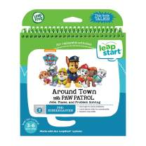 LeapFrog LeapStart Paw Patrol Activity Book, Great Gift For Kids, Toddlers, Toy for Boys and Girls, Ages 3, 4, 5, 6