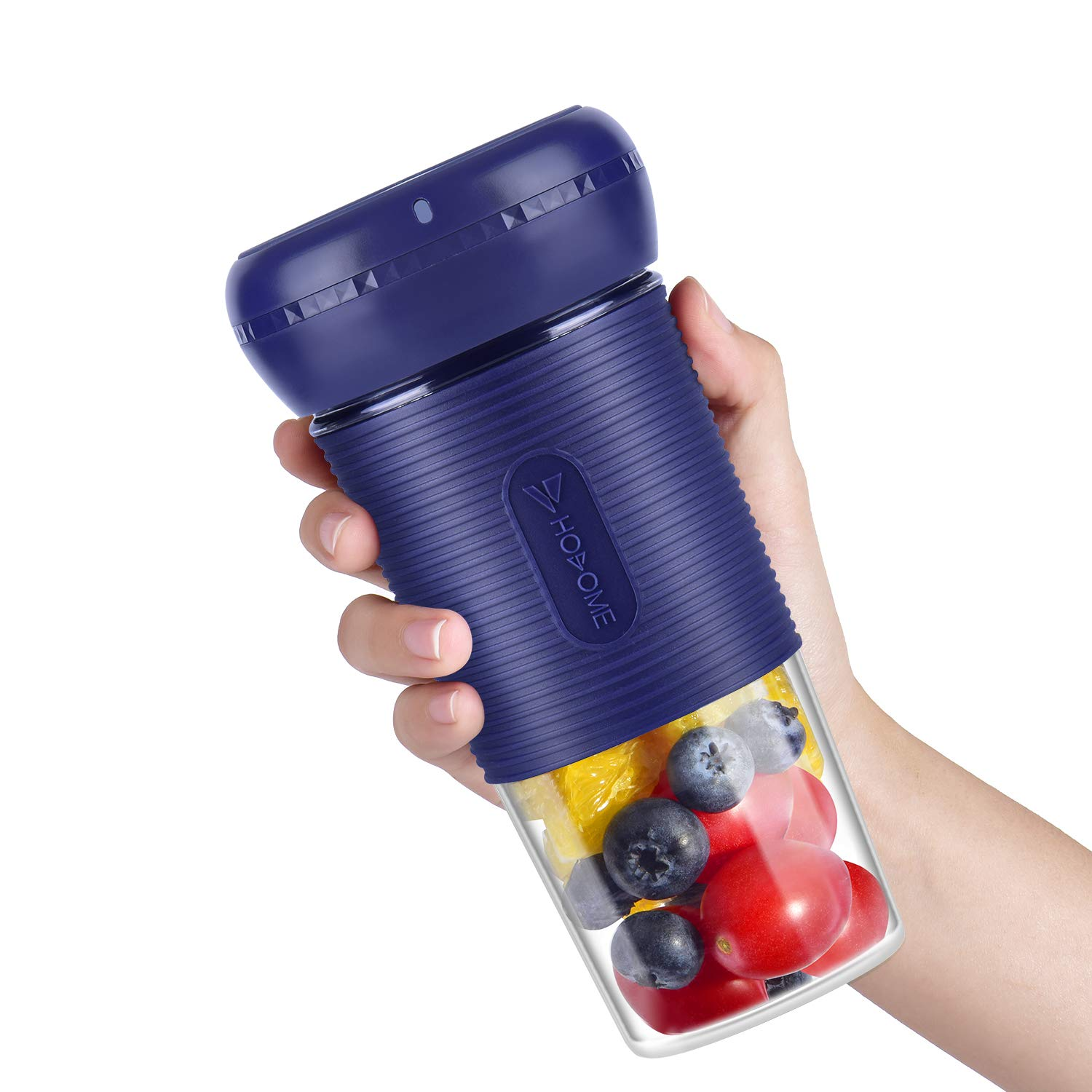 Portable Blender, Hosome Cordless Personal Blender Shakes and Smoothies, Single Serve Mini Mixer, USB Rechargeable Home Office Sports Travel Outdoors