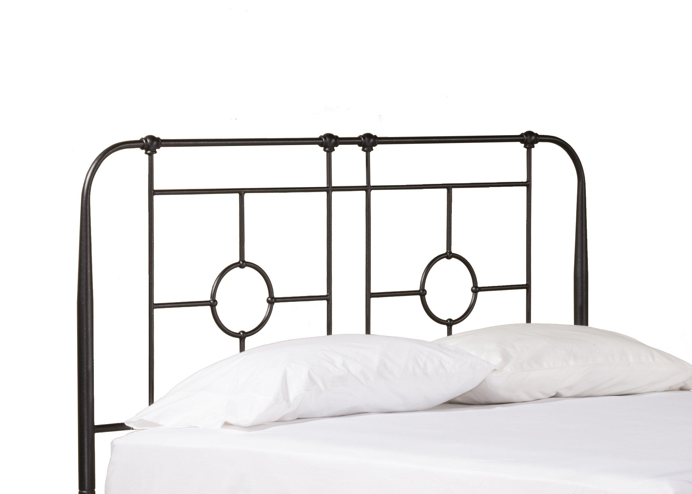 Hillsdale Furniture Hillsdale Trenton King Bed Headboard without Frame, Black Sparkle