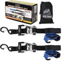 "XSTRAP Ratchet Tie Down with Soft Loop - 2 Pk (1.5"" x 6')"