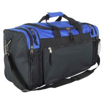 "DALIX 20"" Sports Duffle Bag w Mesh and Valuables Pockets Travel Gym"