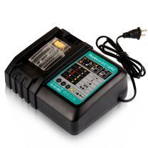 Batteriol DC18RC 18V Battery Charger with Power Indicator, Fit for 14.4V - 18V Lithium-ion LXT Battery BL1815 BL1830 BL1850B BL1860 BL1840 BL1430