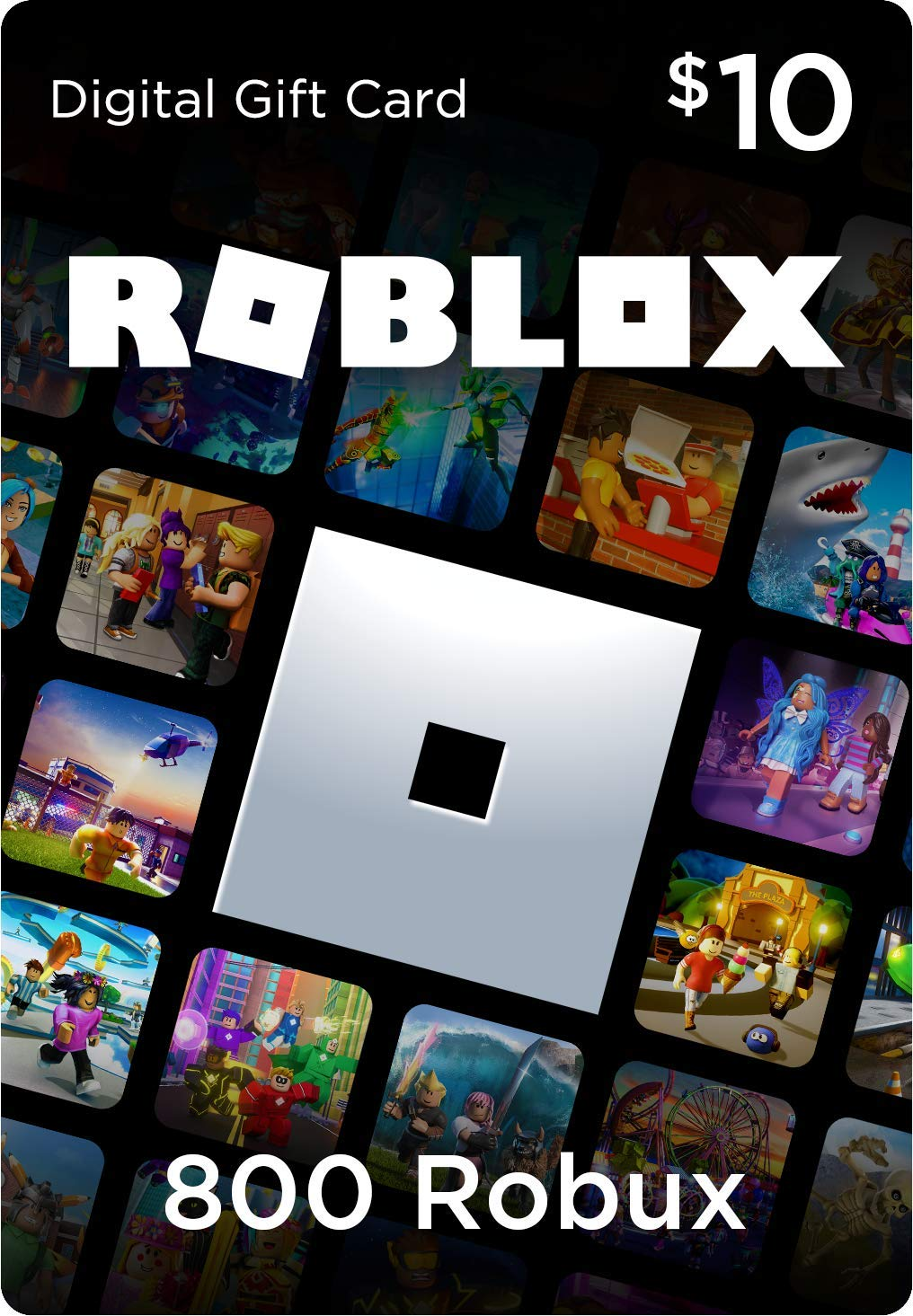 Roblox Gift Card - 800 Robux [Includes Exclusive Virtual Item] [Online Game Code]
