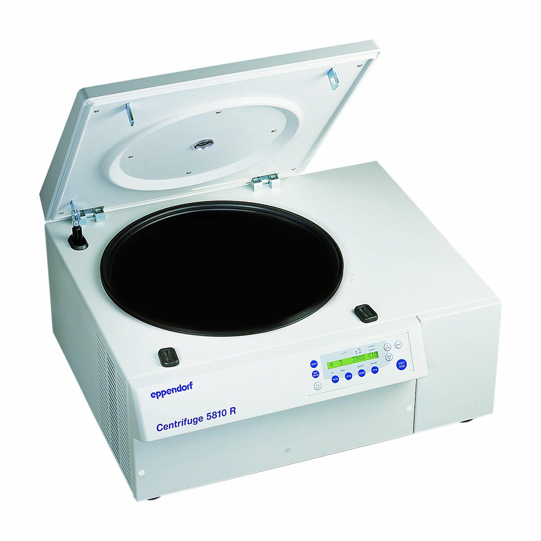 Eppendorf 022625551 5810 R Multi-Purpose Variable-Speed Refrigerated Centrifuge, 200-14,000rpm Speed, 230V/50Hz