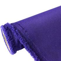 Waterproof Canvas Fabric Outdoor 600 Denier Indoor/Outdoor Fabric by The Yard PU Backing W/R, UV, 2times Good PU Color : Purple 1 Yard
