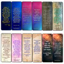 Pray Over Your Children Bookmarks (12 Pack) - Prayers and Bible Texts Bookmarks