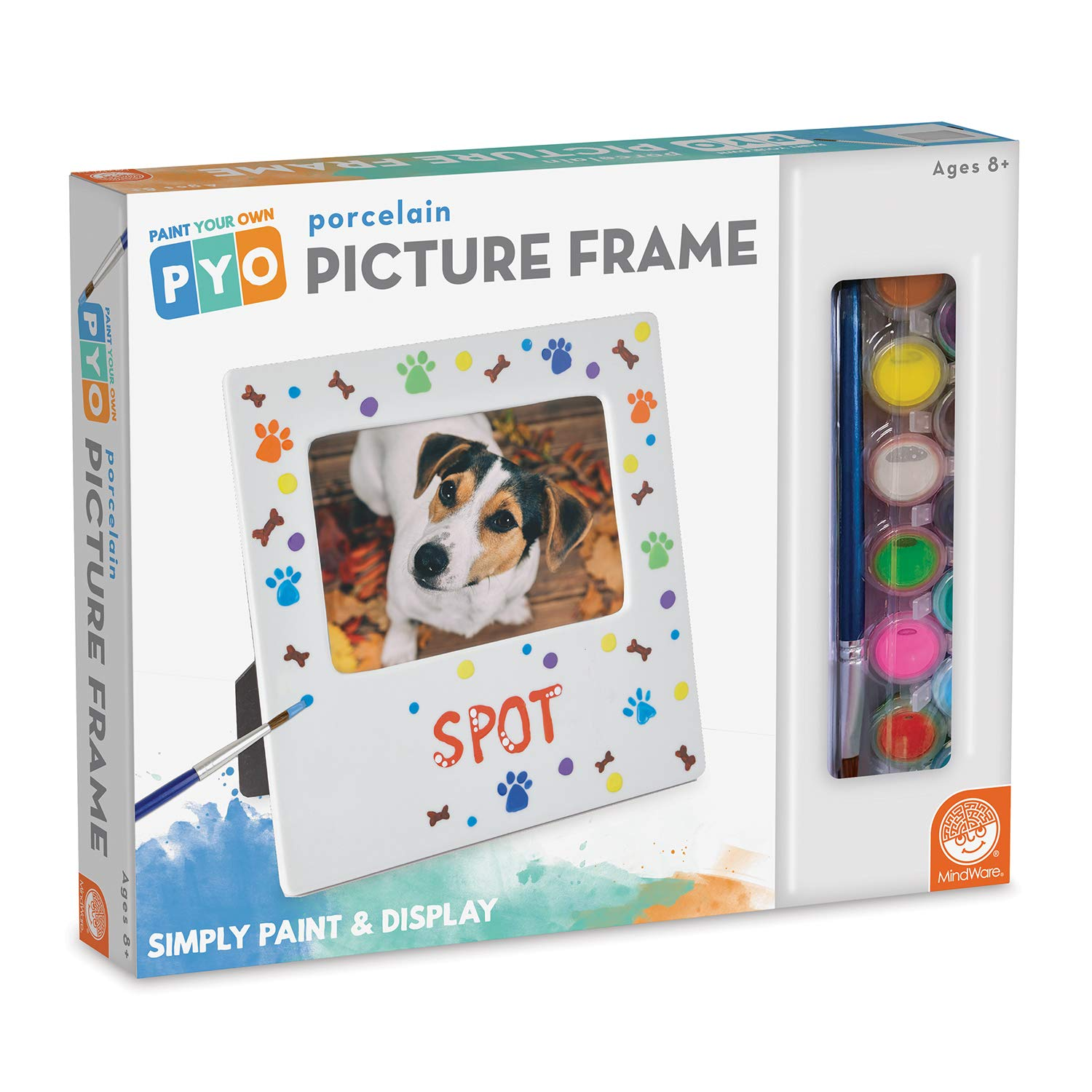 MindWare Paint Your Own Porcelain: Picture Frame