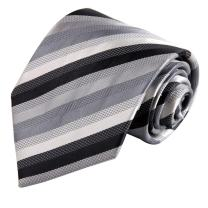 FashionOn Men' Fashionon Beautiful Designer Fashion Stripes Woven Silk Necktie Set