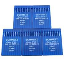 ckpsms SCHMETZ Needle - 50 SCHMETZ 135X17 Industrial Walking Foot Machine Needles DPX17 SY3355 (19/120)