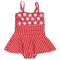 Kids Swimsuit Two Piece Bikini Toddler Baby Fringe Swimwear Beach Bathing Set