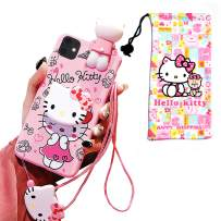 VANVENE Kitty iPhone 11 Pro Max Case, Cute Cartoon 3D Animal Character Silicone Protective Kawaii iPhone 11 Pro Max Fun Case for Kids Girl Boys Teens 6.5 Inch